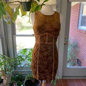 Free People Burnout Babe Bodycon dress